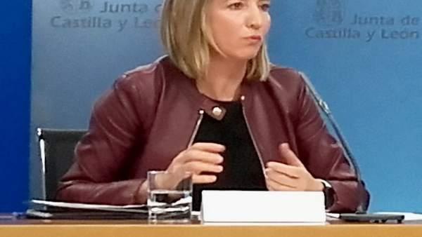 La consejera de Familia e Igualdad de Oportunidades, Alicia García