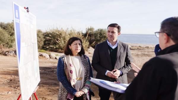 Diputación mejorará la Red Galasa en la barriada de Mojácar Playa.
