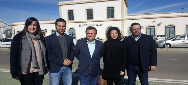 Heredia antequera segunda estación AVE PSOE