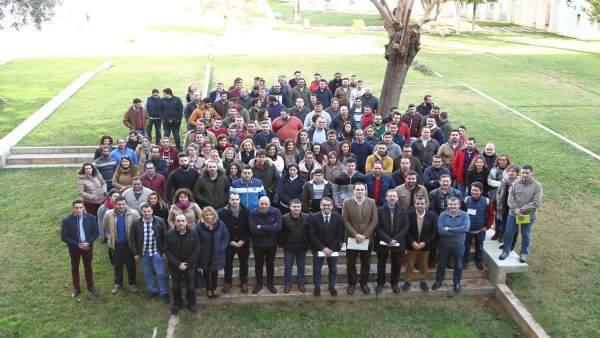 Entrega de ayudas de la Delegación de Agricultura en Sevilla