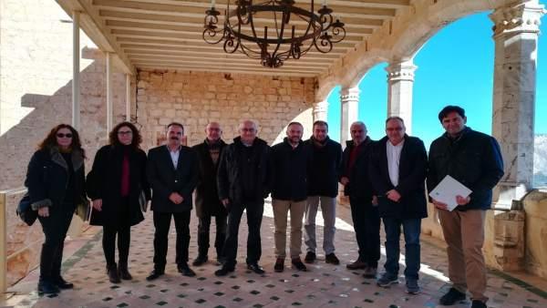 Comisión de seguimiento del Patio de Honor del Castillo de Vélez-Blanco
