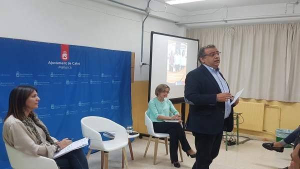 El alcalde de Calvià, Alfonso Rodríguez