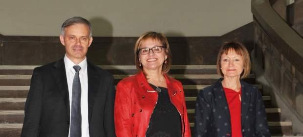 Los tres candidatos a las elecciones al Rectorado de la UV