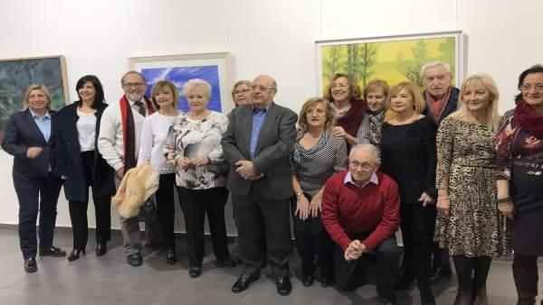 Inauguración del Salón de Invierno de ADAFA