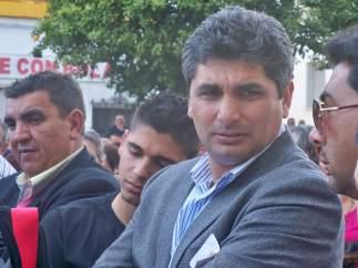 El padre de Mari Luz, Juan José Cortés.