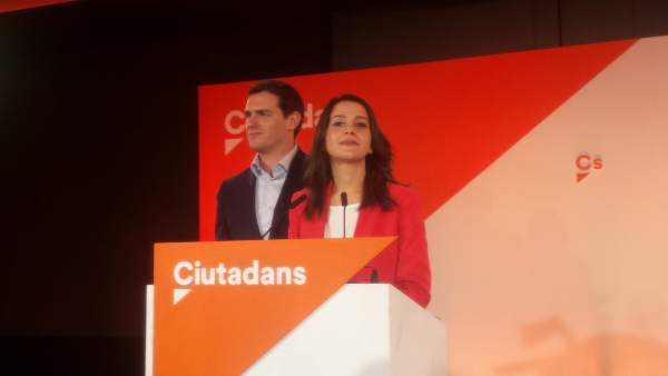 Albert Rivera e Inés Arrimadas (Cs)