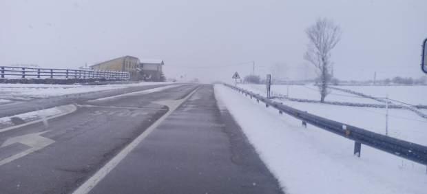 Carretera nevada