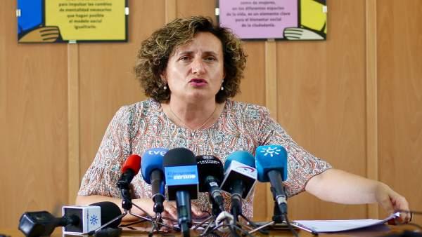 Asesora jurídica del Centro de la Mujer de Maracena, Francisca Granados