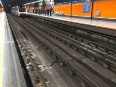Filtraciones de agua, vías deterioradas y lentitud en tramos marcan el servicio de Metrosur