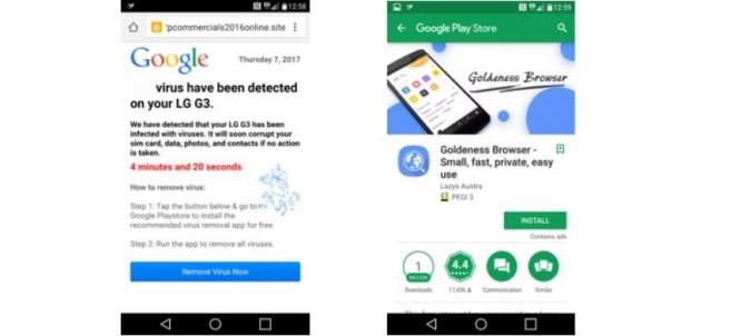 'Malware' en la Play Store