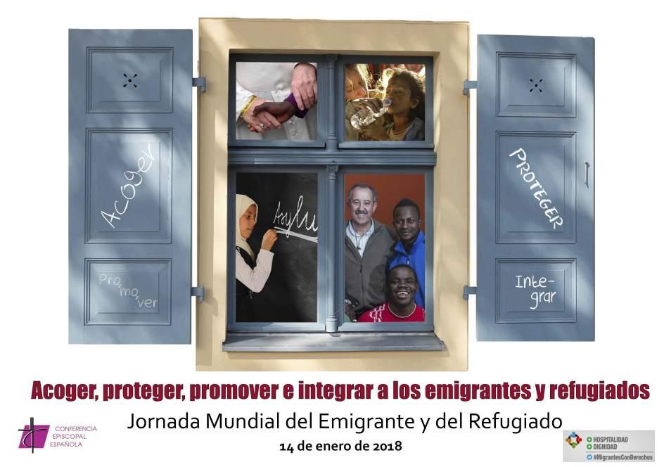 Resultado de imagen de jornada mundial del emigrante y refugiado 2018 logroño