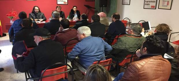 Reunión comarcal PSOE en Azuaga