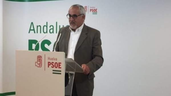 El parlamentario andaluz por el PSOE de Huelva, Diego Ferrera