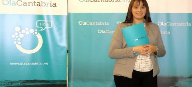 La presidenta de OlaCantabria, Graciela Gómez