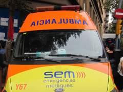 En estado crítico un joven apuñalado en el Raval de Barcelona