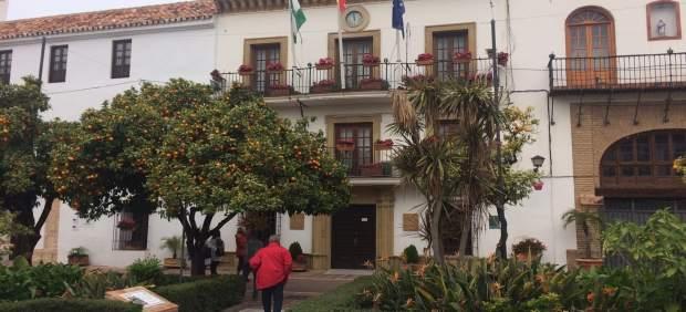 Ayuntamiento de Marbella, fachada, Consistorio marbellí
