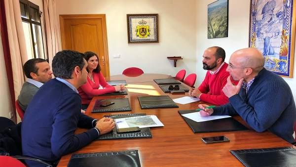 Reunión del Ayuntamiento de Los Barrios con Endesa