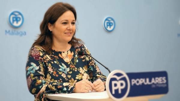 La vicesecretaria de Política Municipal del PP de Málaga, Natacha Rivas,