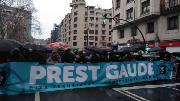 Manifestación por los presos