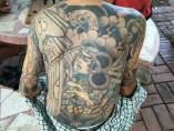 Los tatuajes de un capo Yakuza
