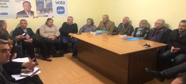 Reunión del PP de Almería con Aunan