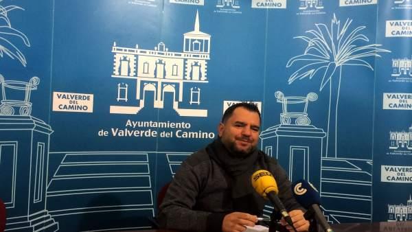 El portavoz del PP en Ayuntamiento de Valverde del Camino, José Domingo Doblado
