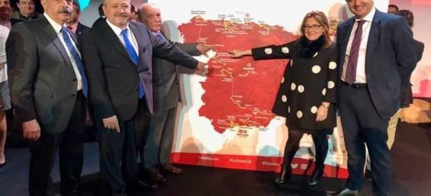 Madrid.- Representantes políticos en la presentación de la Vuelta