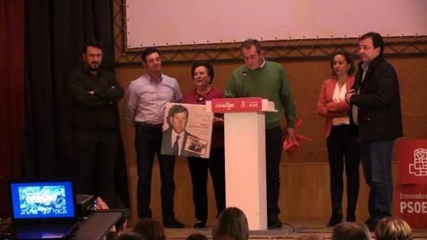 [Nota De Prensa+Imagen] Fernández Vara :'Hay Que Seguir Dotando A Extremadura De