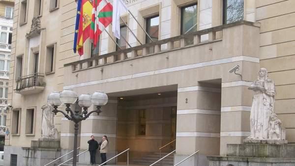 Palacio de Justicia en Bilbao.