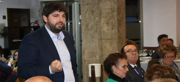 El presidente del Partido Popular de la Región de Murcia