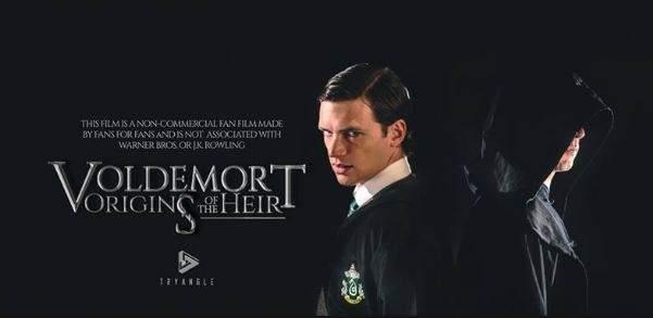 YouTube estrena 'Voldemort: los orígenes del heredero', un film no oficial hecho por fans