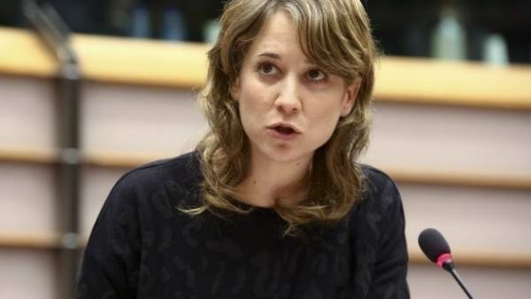 La eurodiputada de IU Marina Albiol