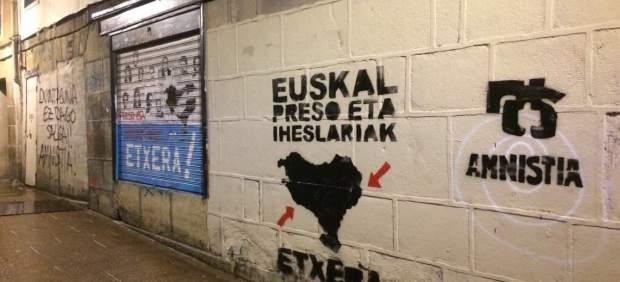 Pintadas en Bilbao