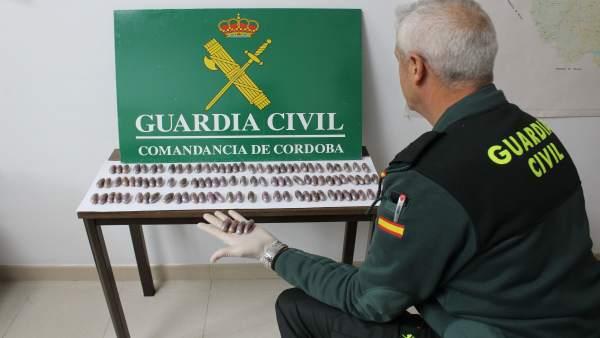 Droga intervenida por la Guardia Civil