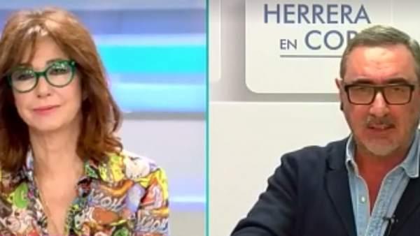 Herrera en 'El programa de Ana Rosa'