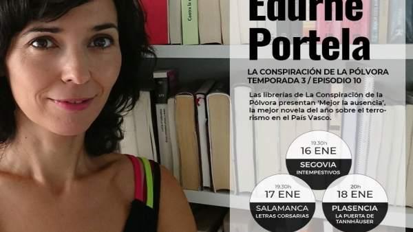 Encuentro con Edurne Portela