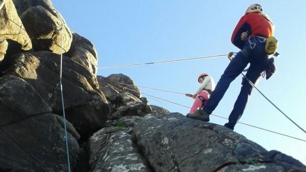 Deporte en medio natural Galicia, escalada