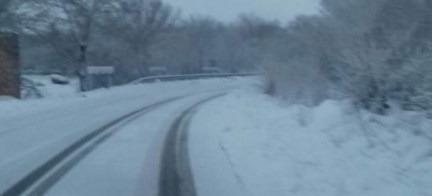 Segovia.- estado de la carretera de Pedraza a Arcones