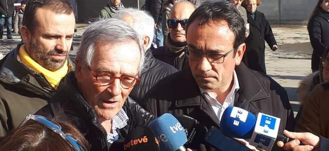 El exalcalde de Barcelona Xavier Trias y el diputado de JuntsxCat Josep Rull