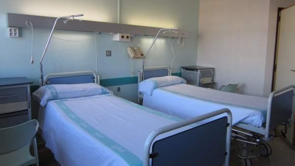 Habitación reformada de la cuarta planta del Hospital General.