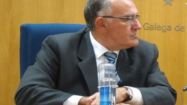 El presidente de la Fegamp y alcalde de O Barco, Alfredo García (PSOE)