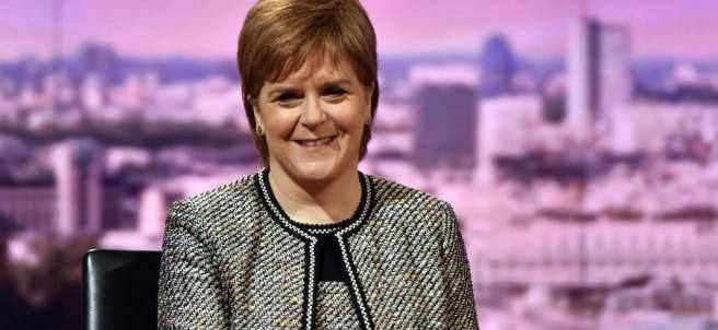 La primera ministra de Escocia, Nicola Sturgeon
