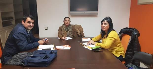 Marta Bosquet (Cs) se reúne con Asaja y COAG