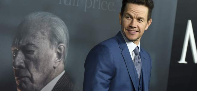 El actor Mark Wahlberg