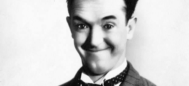 El actor Stan Laurel
