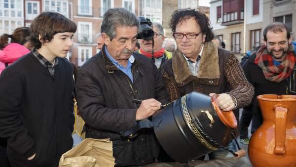 Revilla en la festividad de San Sebastián en Reinosa