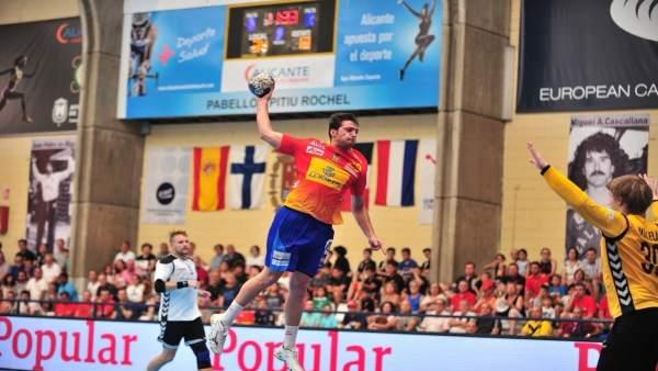 Aitor Ariño selección española balonmano España
