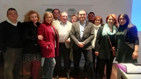 Amós García (PP) asiste a una conferencia de Stop Impuesto Sucesiones