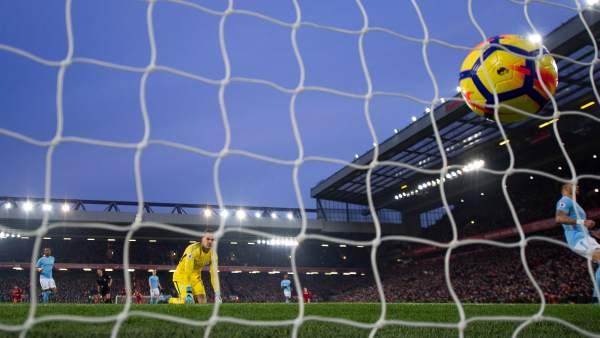 Gol de Liverpool