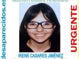 Irene, desaparecida